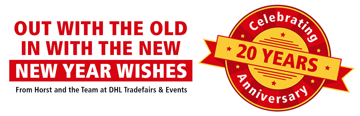 DHL tradefairs 20th year